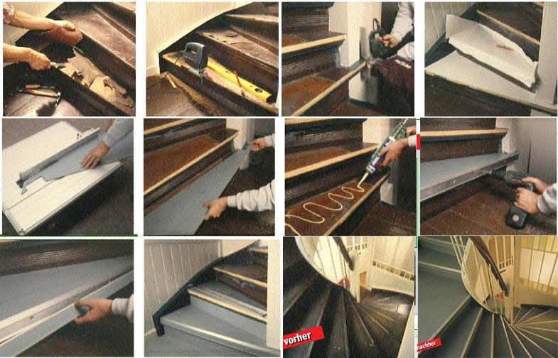 Treppe renovieren - Stufe für Stufe ein toller Auftritt